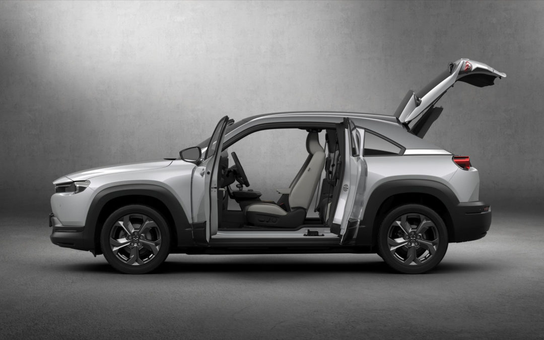 Mazda aims its new MX-30 EV at the European market