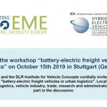 Battery-electric commercial vehicles in urban logistic